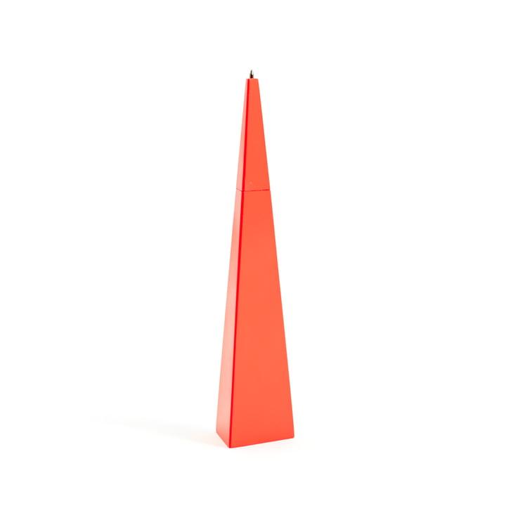 Stylo vertical d'Areaware en rouge et triangle