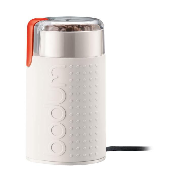 Moulin à café électrique Bistro Bodum en blanc