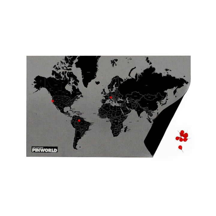 Palomar - Pin World by Countries, noir / mini