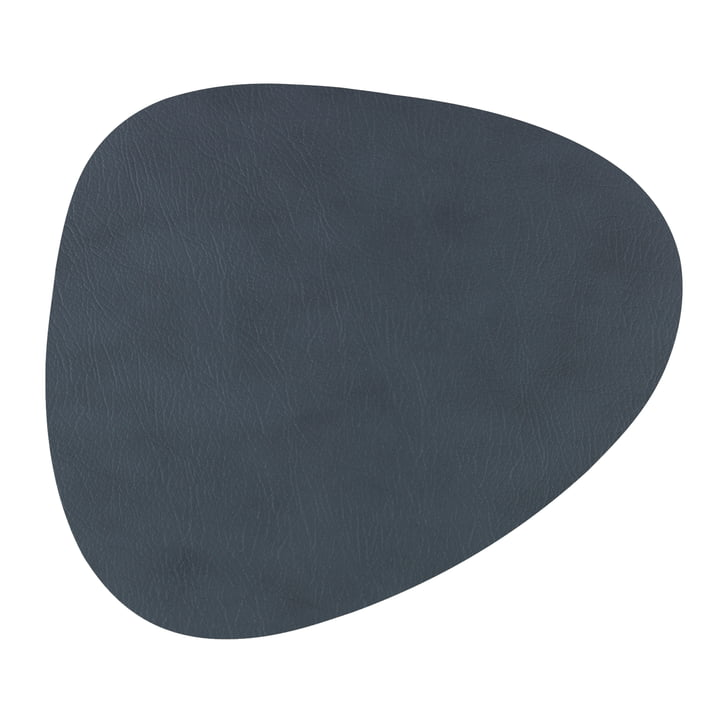 Dessous-de-plat Hot Mat Curve 28 x 34 cm de LindDNA en anthracite Cloud (3 mm)