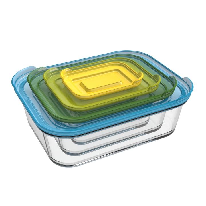 Nest Glass Storage Ensemble de conteneurs (4 pièces) de Joseph Joseph