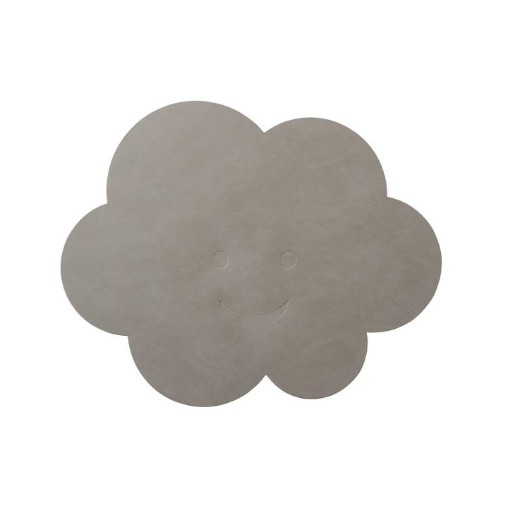 Set de table Nuage 38 x 31 cm de LindDNA en gris clair nupo (1,6 mm)