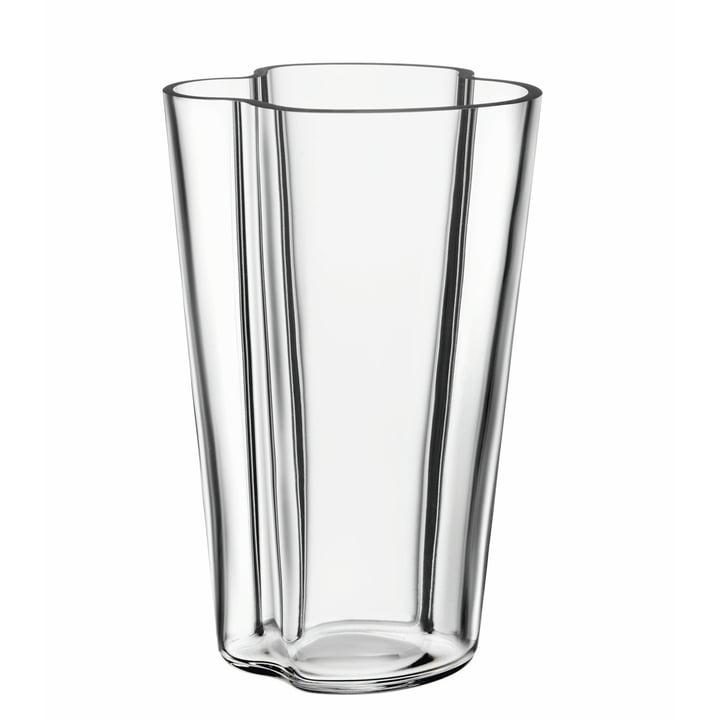 Iittala - Vase Aalto Finlandia, transparent 220 mm