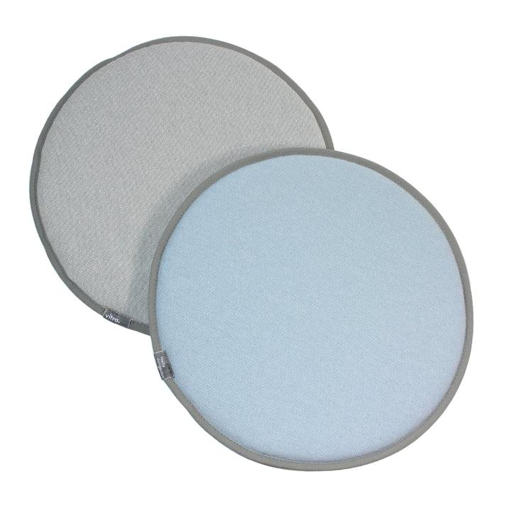 Vitra - Seat Dots, blanc crème / gris sierra