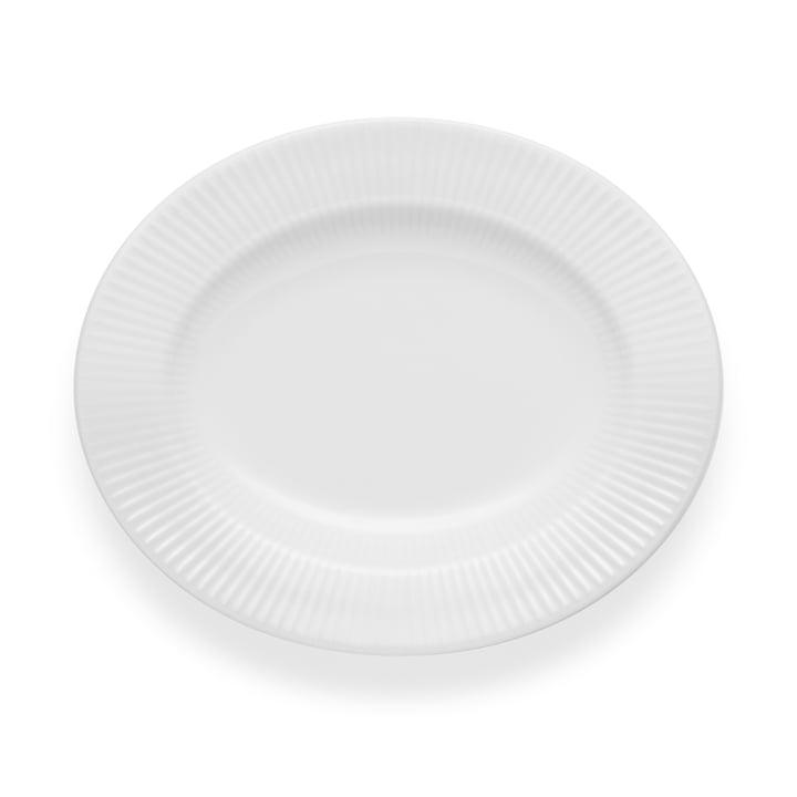 L'assiette Nova oval / 25 cm de profondeur par Eva Trio