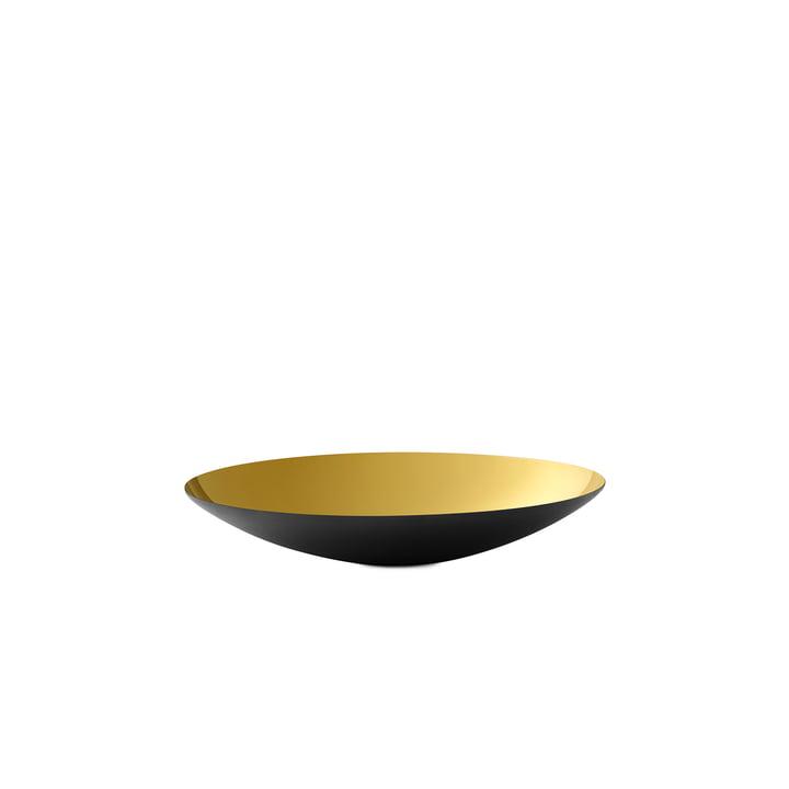 Bol plat en krenite 2,8 x Ø 16 cm de Normann Copenhagen en or