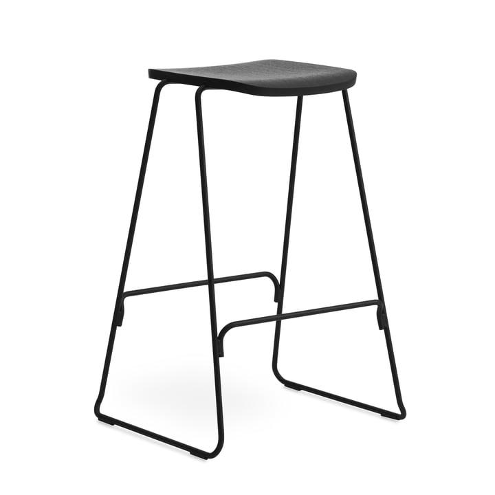 Tabouret de bar Just H 75 cm de Normann Copenhagen en noir