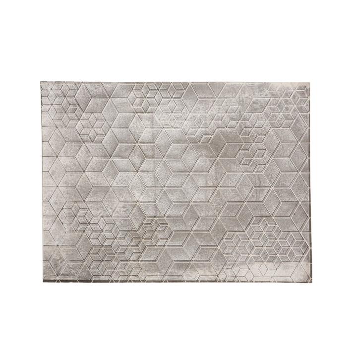 Mika Barr - Set de table Tin, 50 x 40 cm, gris