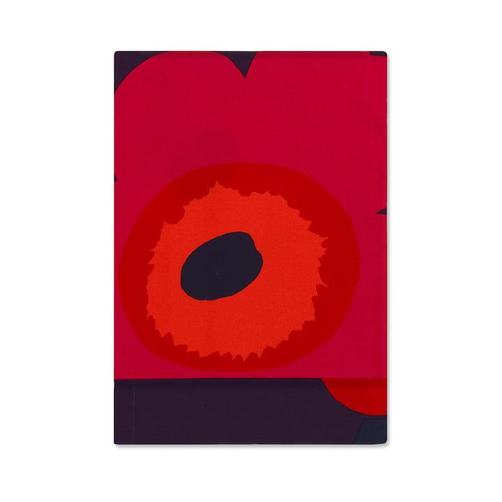 Unikko nappe 155 x 280 cm de Marimekko en rouge foncé / rouge