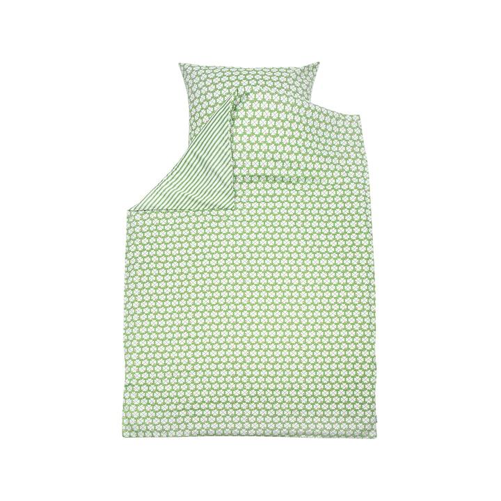 Parure de lit enfant Trèfle par byGraziela en vert