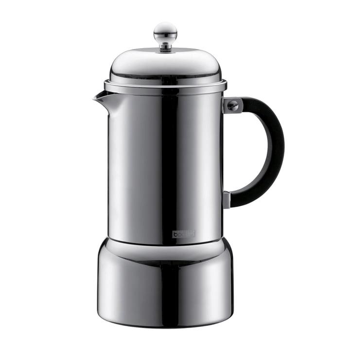 Machine à espresso Chambord, 0,35L, en acier inoxydable