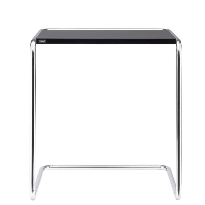 B 97 une table Set Thonet en chrome / top coat noir foncé (RAL 9005)