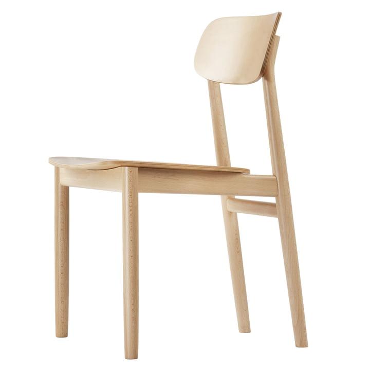 Chaise 130 de Thonet en hêtre naturel (TP 17)
