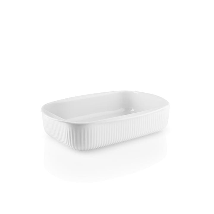 Eva Trio - Legio Nova Plat à gratin petit, 24 x 16,5 cm, blanc
