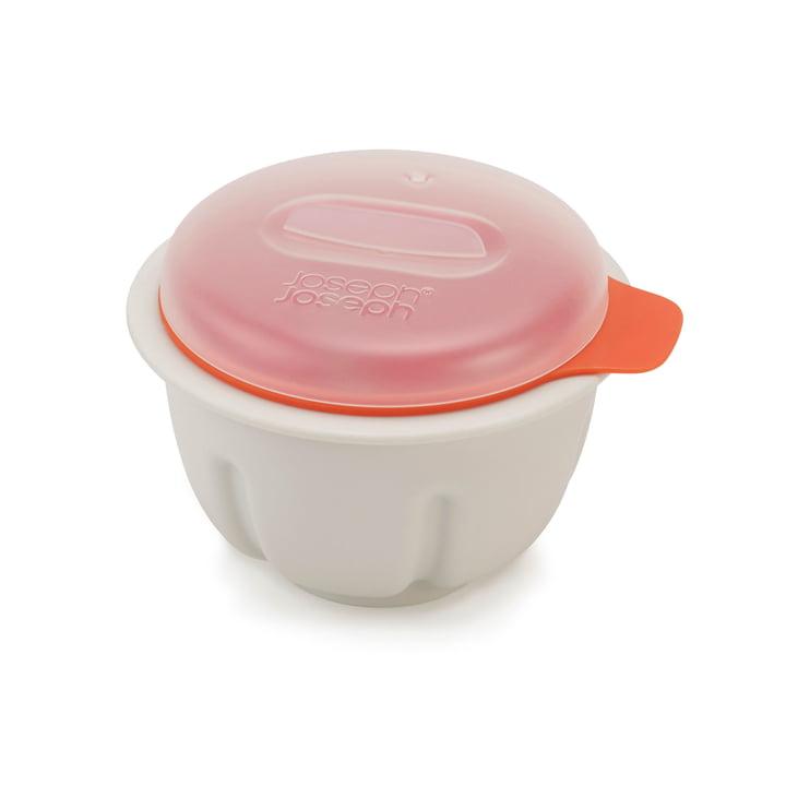 M-Cuisine pocheuse à oeufs pour micro-ondes par Joseph Joseph en orange