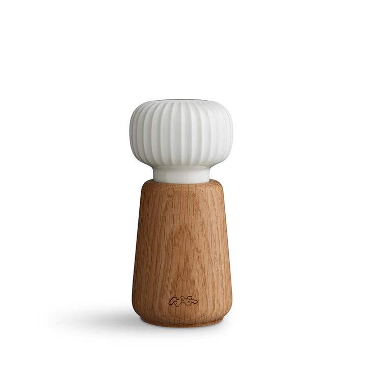Kähler Design - Hammershøi Moulin à sel et à poivre, petit, blanc