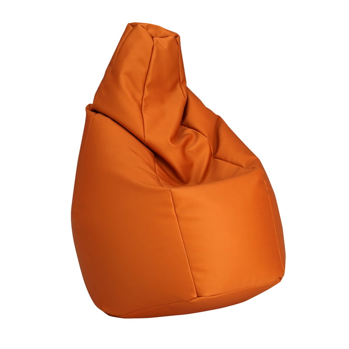 Zanotta - Pouf Sacco, orange VIP