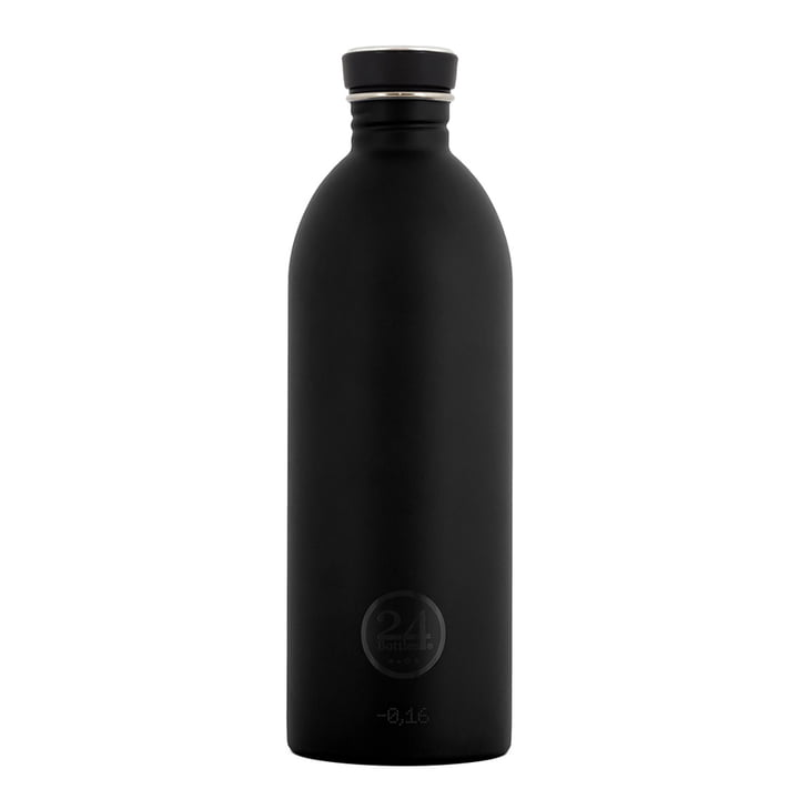 24Bottles - Urban Bottle 1.0 L, schwarz