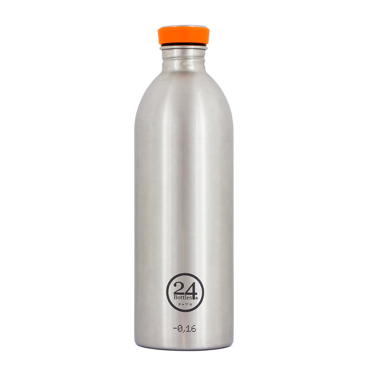 24Bottles - Urban Bottle 1.0 L, Stahl