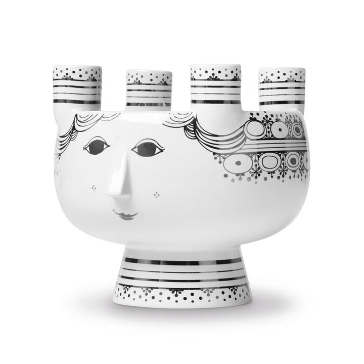 Bougeoir Lucia H 15 cm par Bjørn Wiinblad en argent