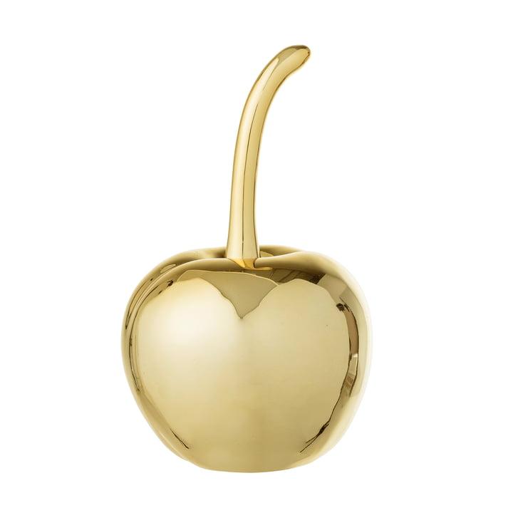 Cerise déco Ø9,5, H16,5cm par Bloomingville en doré