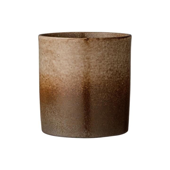 Pot de fleurs en terre cuite marron par Bloomingville