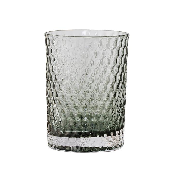 Bloomingville - Gobelet à brosse à dents en verre, gris