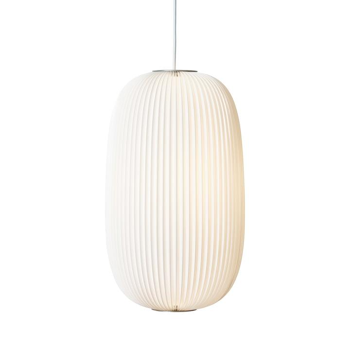 Suspension lumineuse Lamella 2 par Le Klint en blanc