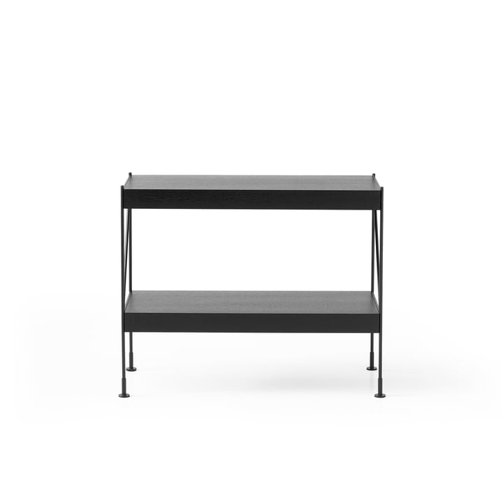 Le système de buffet Zet Storing par Menu, 1x2en noir / noir