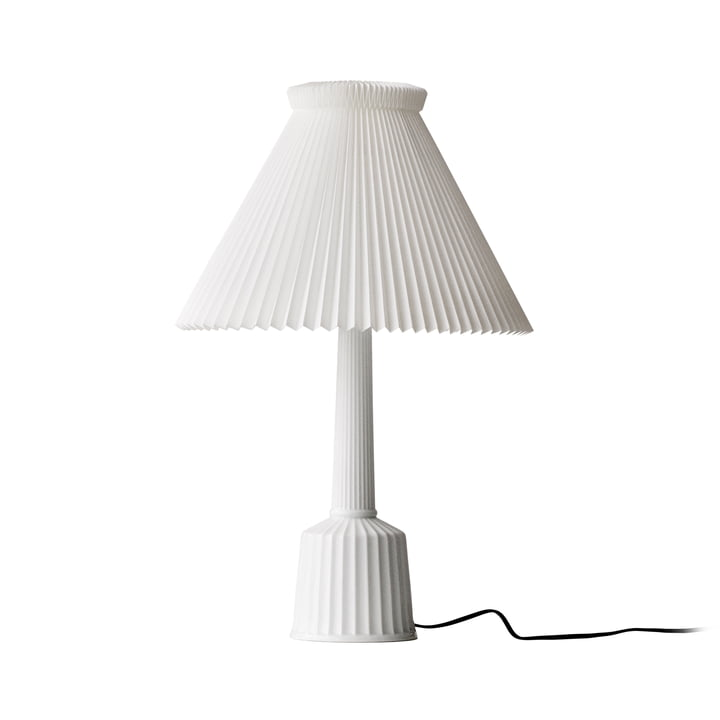 Esben Klint Lyngby Porcelæn Lampe de table en blanc