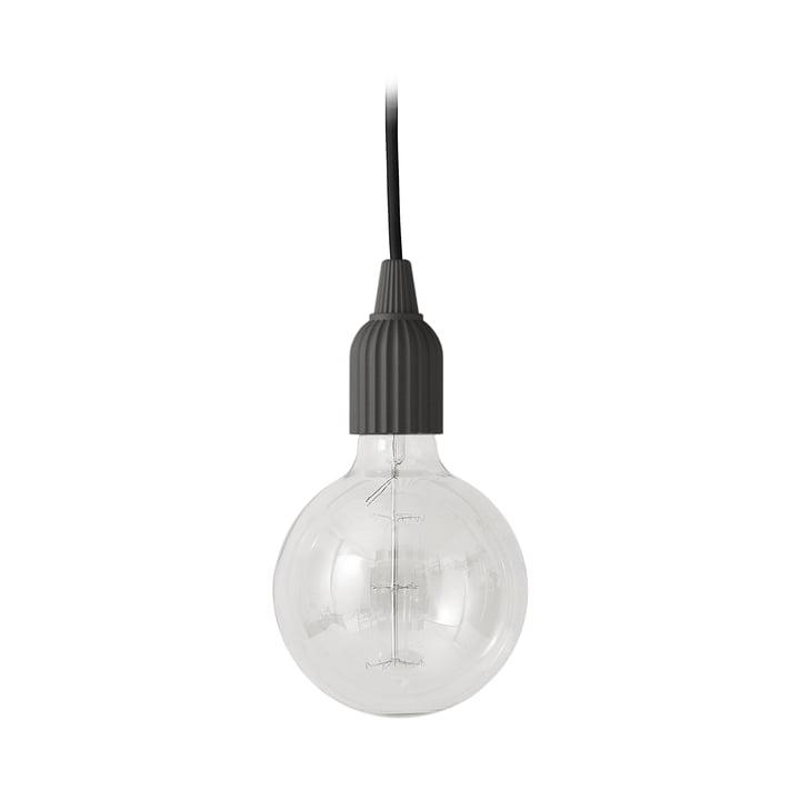 LP Fitting #01 Lampe à suspension de Lyngby Porcelæn couleur noire