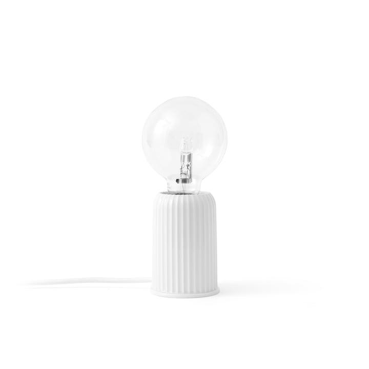 Lyngby Porcelæn - Fitting #3 Lampe de table, blanche