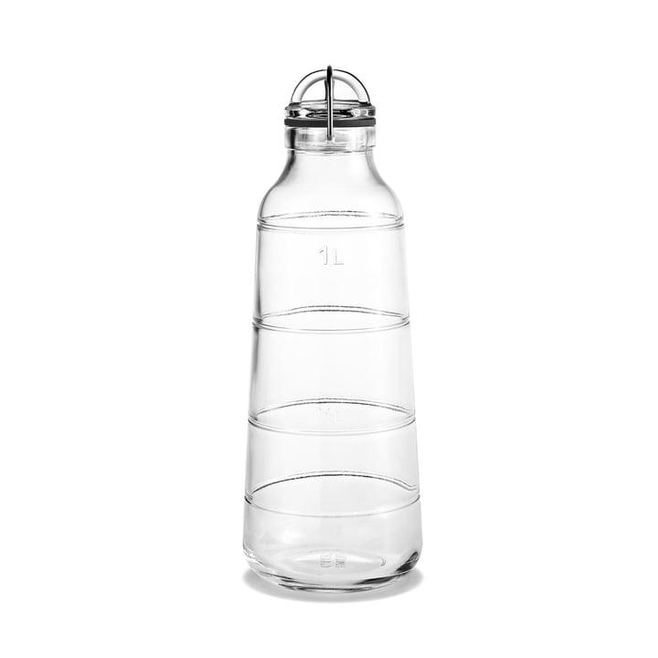Holmegaard - Bouteille Scala 1 litre, transparent