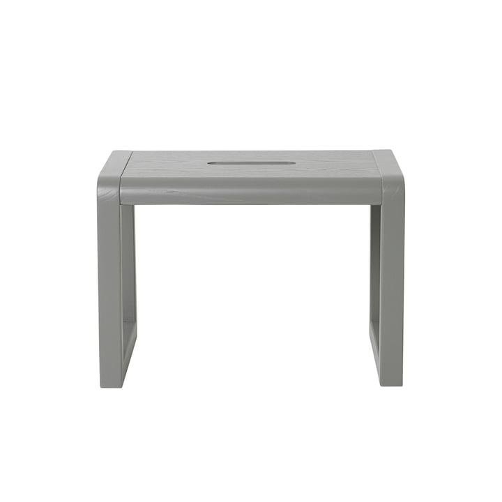Tabouret Little Architect par ferm Living en gris