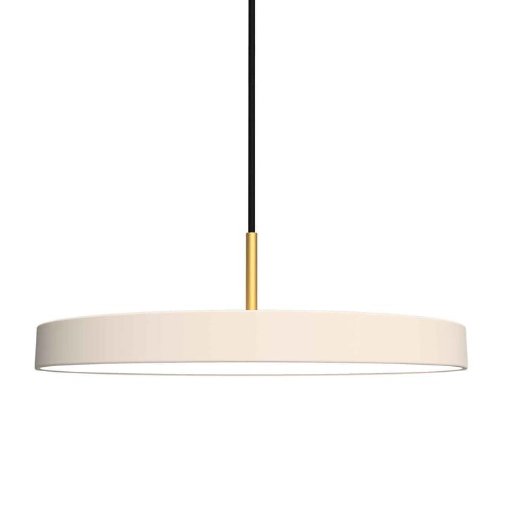 Asteria luminaire suspendu LED de Umage dans Pearl