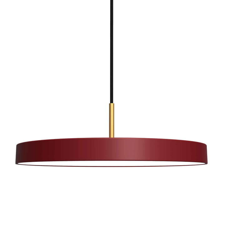 Asteria suspension LED de Umage en rouge rubis