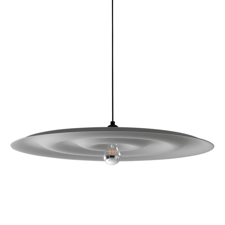 Suspension lumineuse Alma par Wästberg en gris-blanc