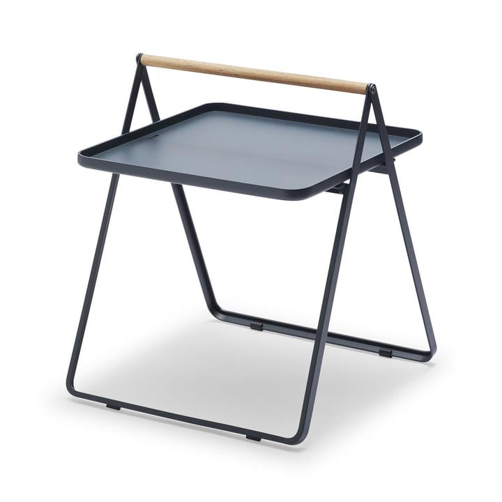 By Your Side Tray Table de Skagerak en bleu foncé