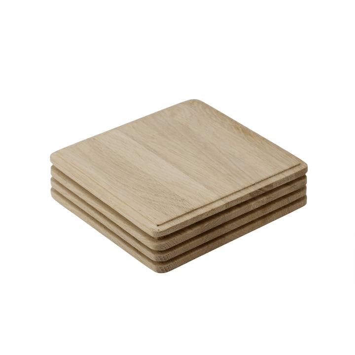 Skagerak - Plank planche à découper (set de 4 pièces), chêne