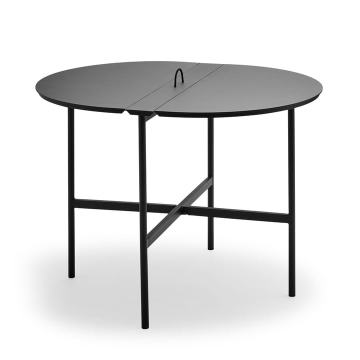 Skagerak - la table Picnic 105 cm en anthracite