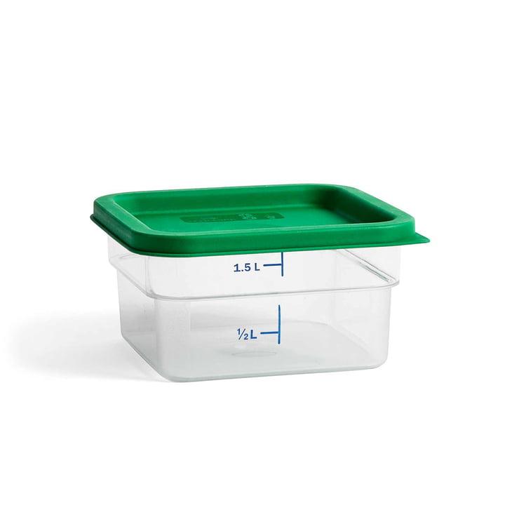 Boîte de rangement avec couvercle coloré M de Hay en vert