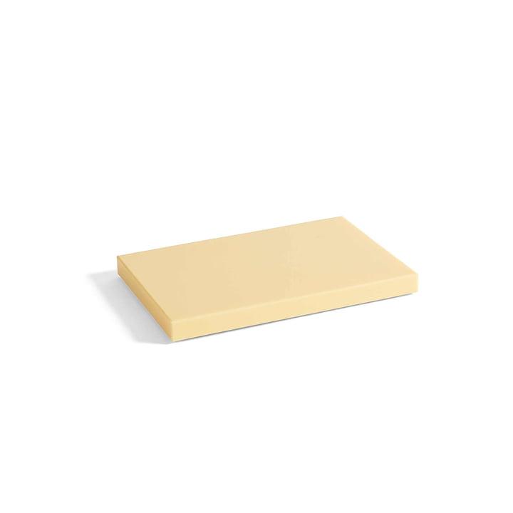 Planche à découper rectangulaire M de Hay en jaune clair