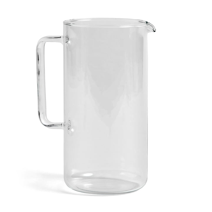 Carafe L transparente, H 23,5 cm de Hay