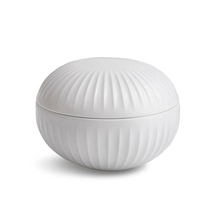Bonbonnière Hammershøi par Kähler Design en blanc