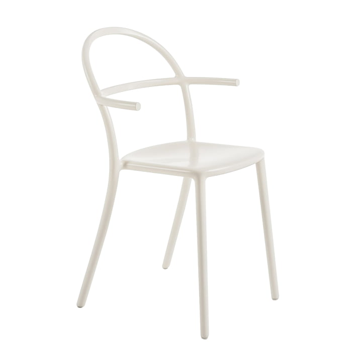 Kartell - Chaise Generic C, blanc