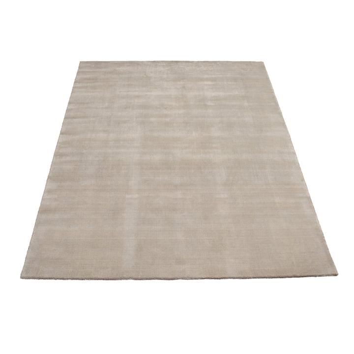 Tapis Earth Bamboo 170x240cm par Massimo en gris doux