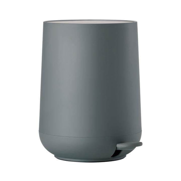 Nova poubelle à pédale 5 L de Zone Danemark en gris