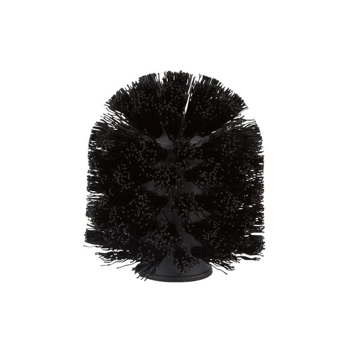 Brosse de rechange pour brosse de toilette de Zone Danemark en noir