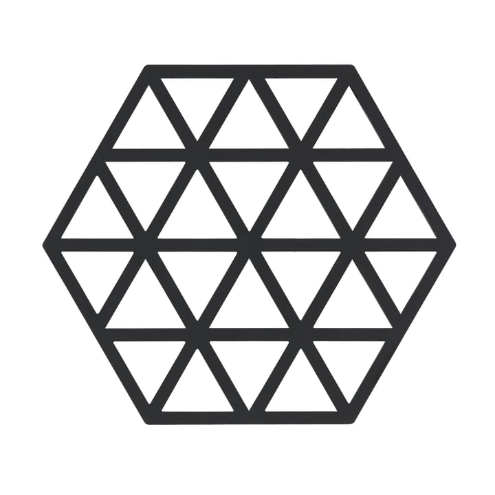 Le dessous de plat Triangle en noir par Zone Denmark