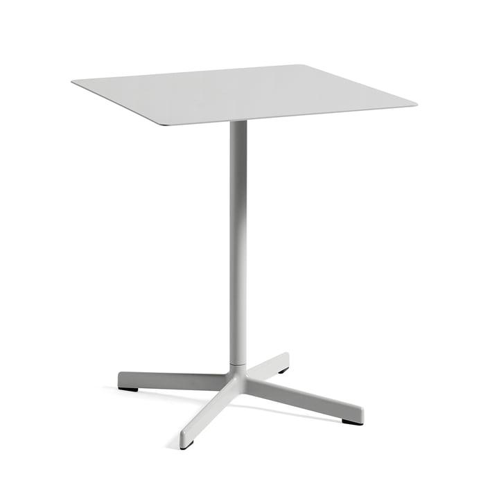 Table Neu 60x60cm par Hay en gris clair